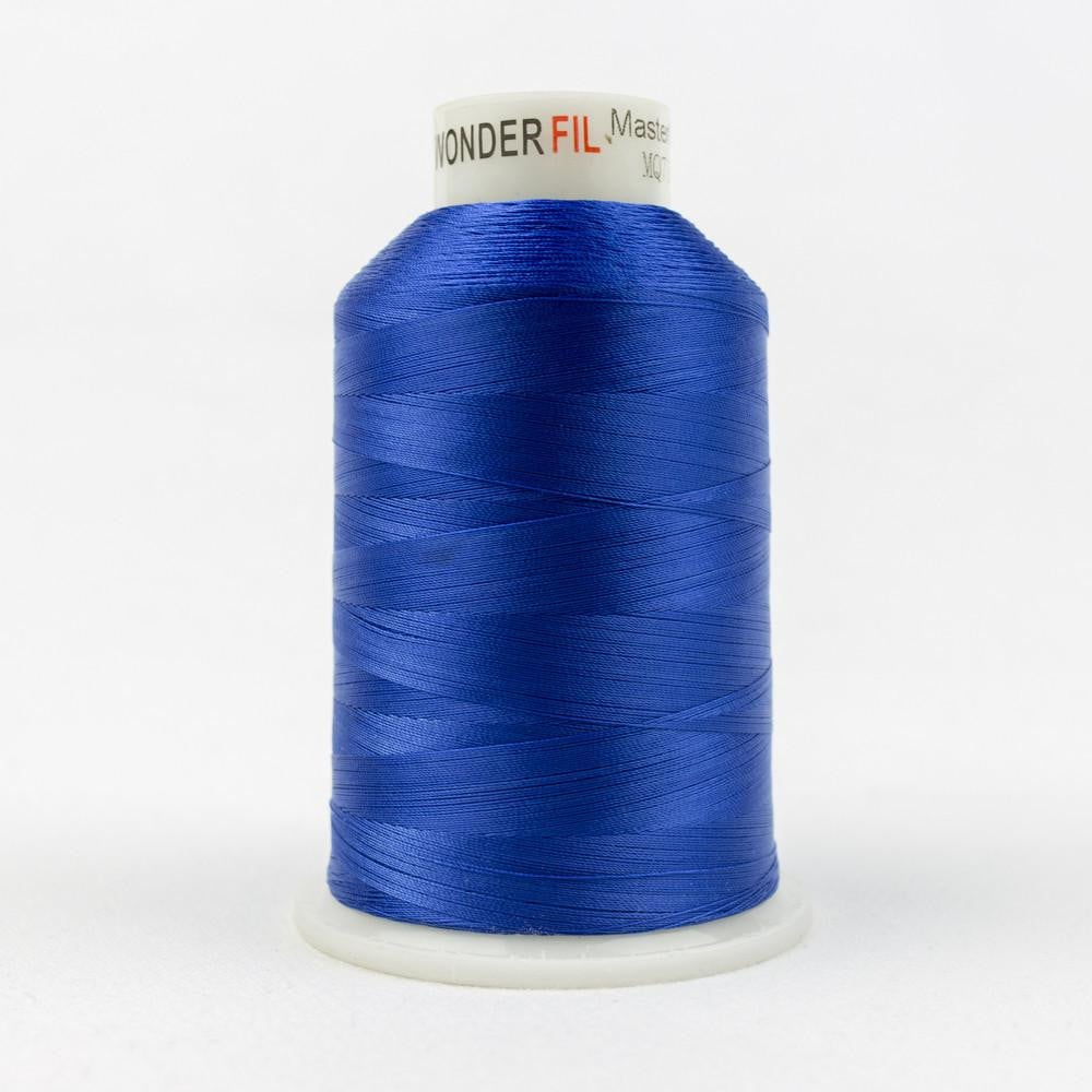 MQ71 - All Purpose Blue Polyester Thread 40wt - wonderfil-online-eu