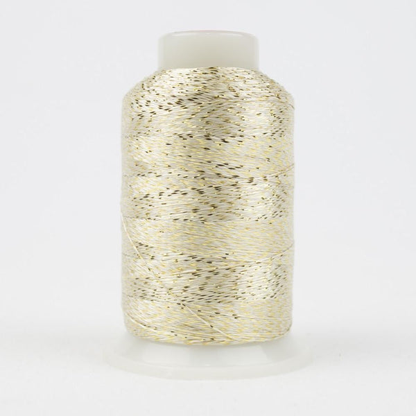 MT6215 - Metallic White Gold Thread 40wt - wonderfil-online-eu