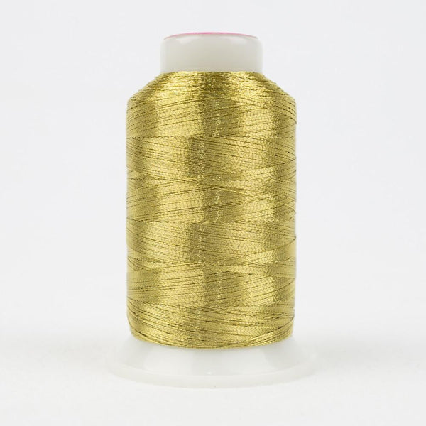 MT6602 - Metallic Light Gold Thread 40wt - wonderfil-online-eu