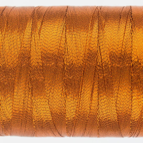 MT7713 - Metallic Light Rust Thread 40wt - wonderfil-online-eu