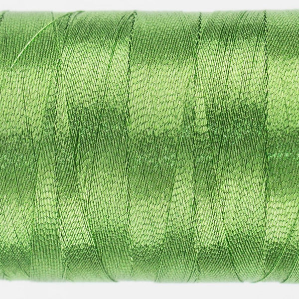 MT7716 - Metallic Lime Thread 40wt - wonderfil-online-eu