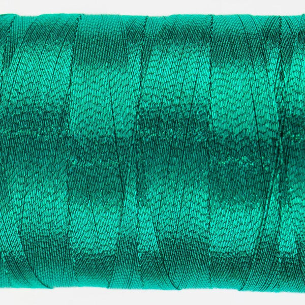 MT7718 - Metallic Sea Green Thread 40wt - wonderfil-online-eu