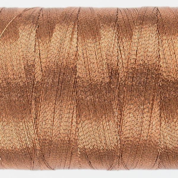 MT7721 - Metallic Light Copper Thread 40wt - wonderfil-online-eu