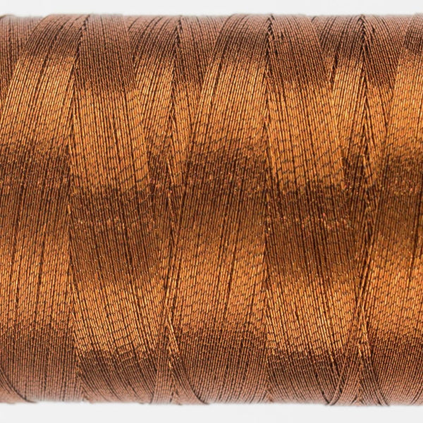 MT7722 - Metallic Deep Copper Thread 40wt - wonderfil-online-eu