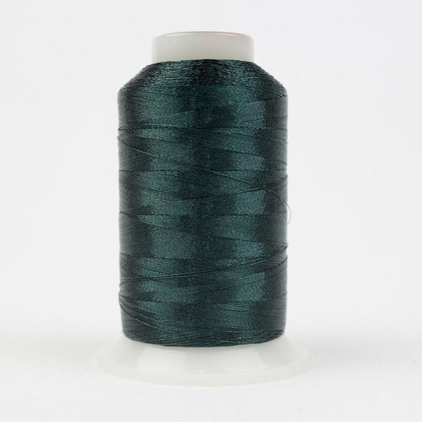 MT7725 - Metallic Dark Green Thread 40wt - wonderfil-online-eu