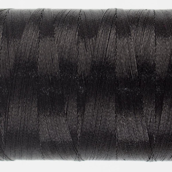 MT7726 - Metallic Black Thread 40wt - wonderfil-online-eu