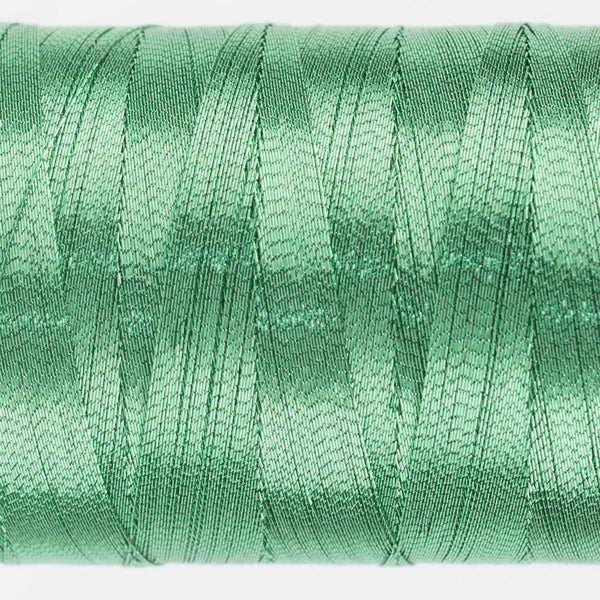 MT7728 - Metallic Mint Green Thread 40wt - wonderfil-online-eu