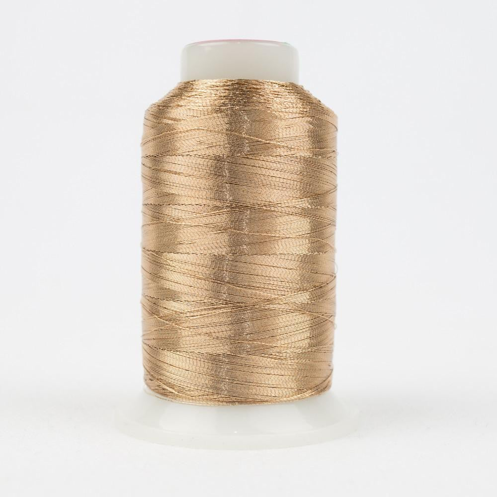 MT7730 - Metallic Soft Brown Thread 40wt - wonderfil-online-eu
