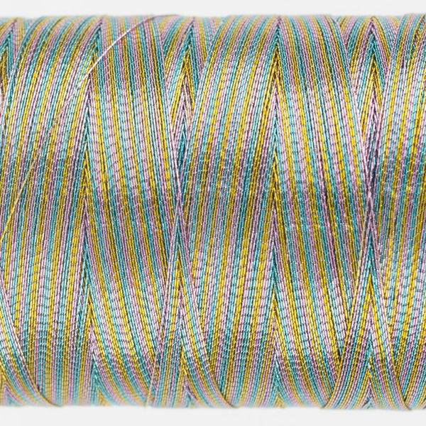 MT7731 - Metallic Pastel Variegated Thread 40wt - wonderfil-online-eu