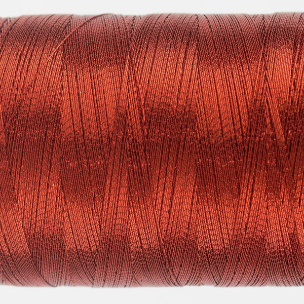 MT8836 - Metallic Red Thread 40wt - wonderfil-online-eu