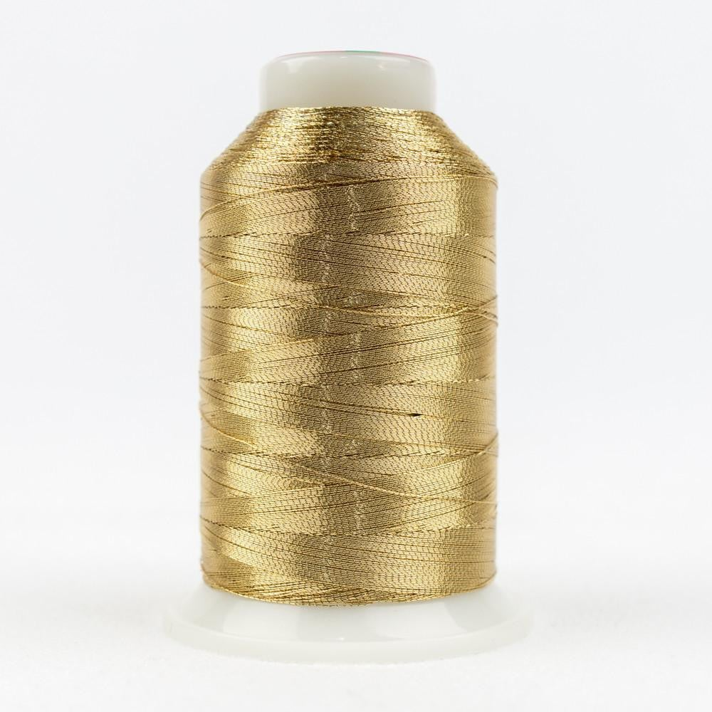 MT8847 - Metallic Burnished Gold Thread 40wt - wonderfil-online-eu