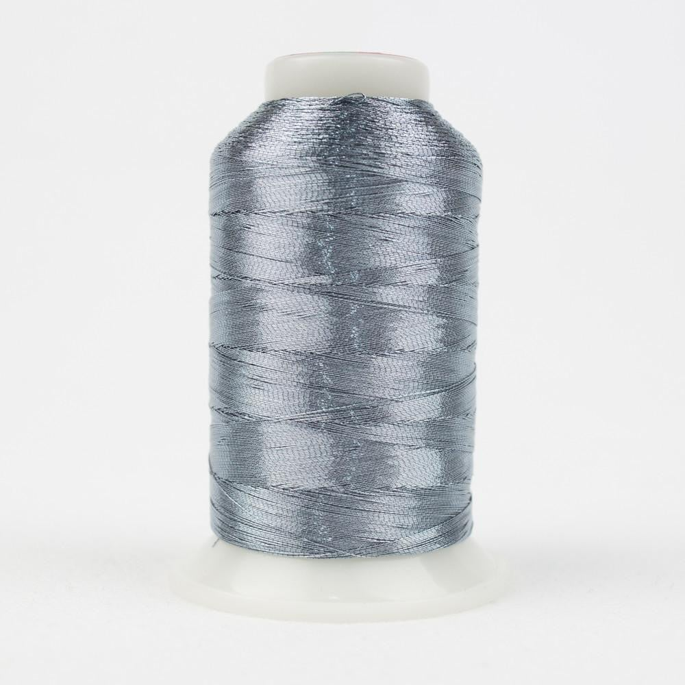MT8848 - Metallic Steel Blue Thread 40wt - wonderfil-online-eu