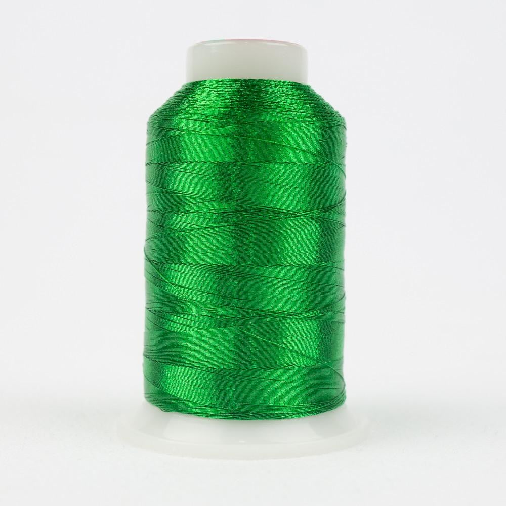 MT8867 - Metallic Green Thread 40wt - wonderfil-online-eu