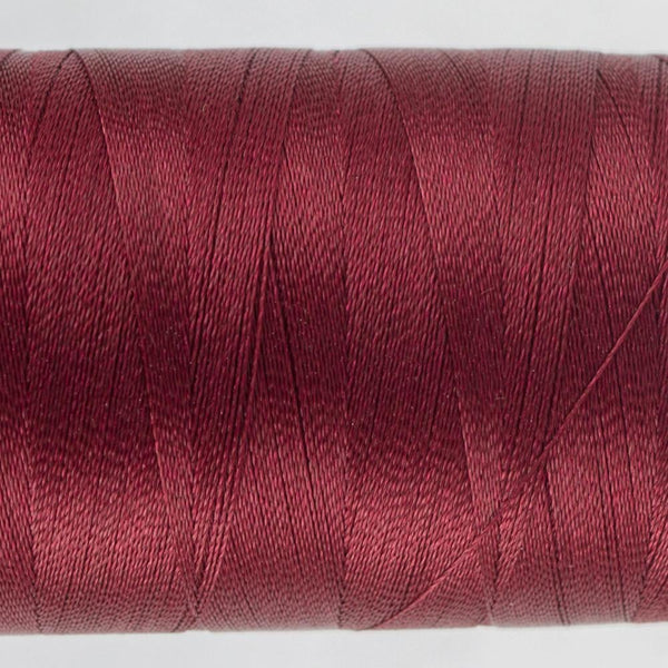 P1017 - Trilobal Polyester Dark Cherry Thread 40wt - wonderfil-online-eu