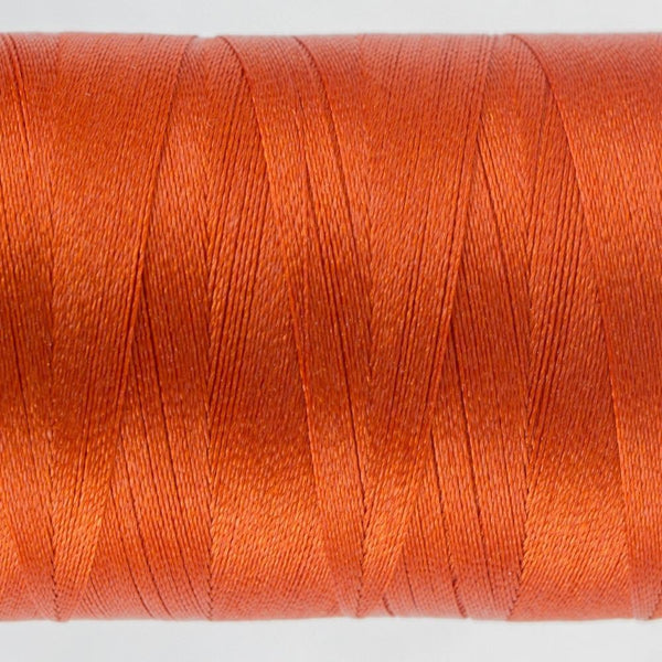 P1074 - Trilobal Polyester Deep Orange Thread 40wt - wonderfil-online-eu