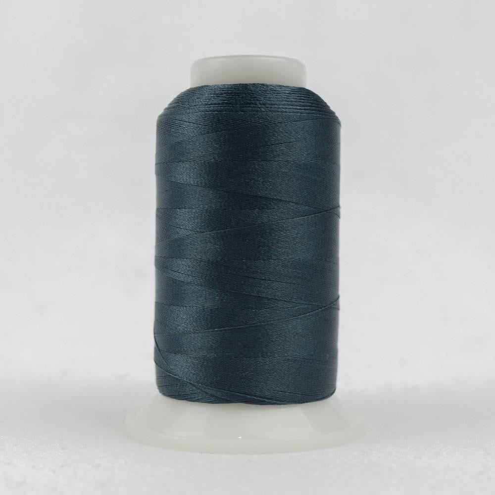P2172 - Trilobal Polyester Dark Steel Blue Thread 40wt - wonderfil-online-eu