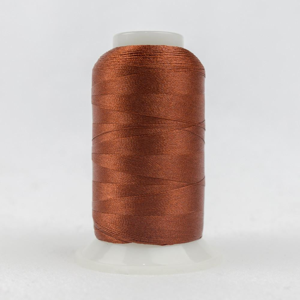 P4314 - Trilobal Polyester Bright Rust Thread 40wt - wonderfil-online-eu