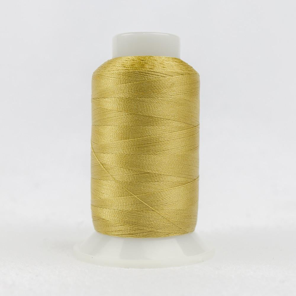 P4360 - Trilobal Polyester Brass Thread 40wt - wonderfil-online-eu