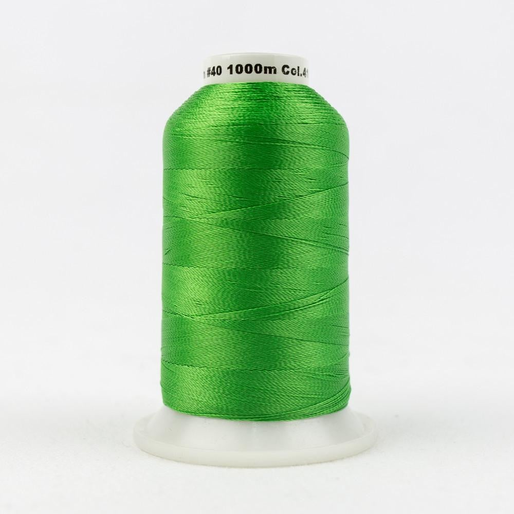 R4153 - Rayon Bright Green Thread 40wt - wonderfil-online-eu