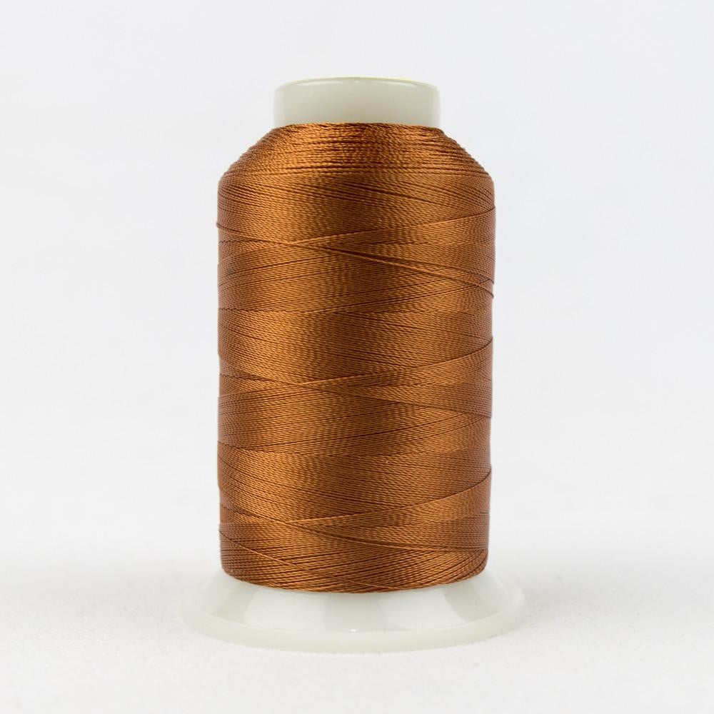 R7122 - Rayon Leather Brown Thread 40wt - wonderfil-online-eu