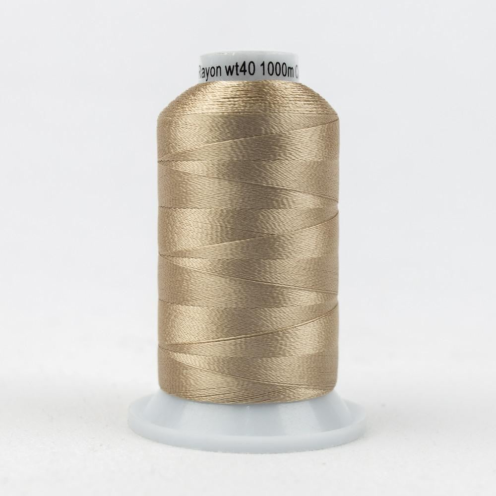 R7137 - Rayon Toasted Almond Thread 40wt - wonderfil-online-eu