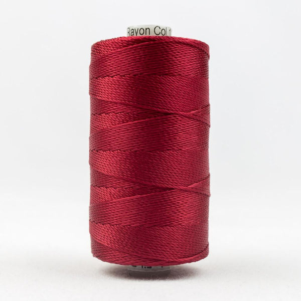 RZ1148 - Rayon Dark Red Thread 8wt - wonderfil-online-eu