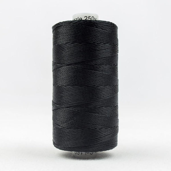 RZ160 - Rayon Black Multicolor Thread 8wt - wonderfil-online-eu