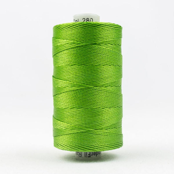 RZ280 - Rayon Grass Green Thread 8wt - wonderfil-online-eu