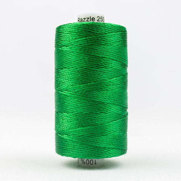 RZ2854 - Rayon Brilliant Green Thread 8wt - wonderfil-online-eu