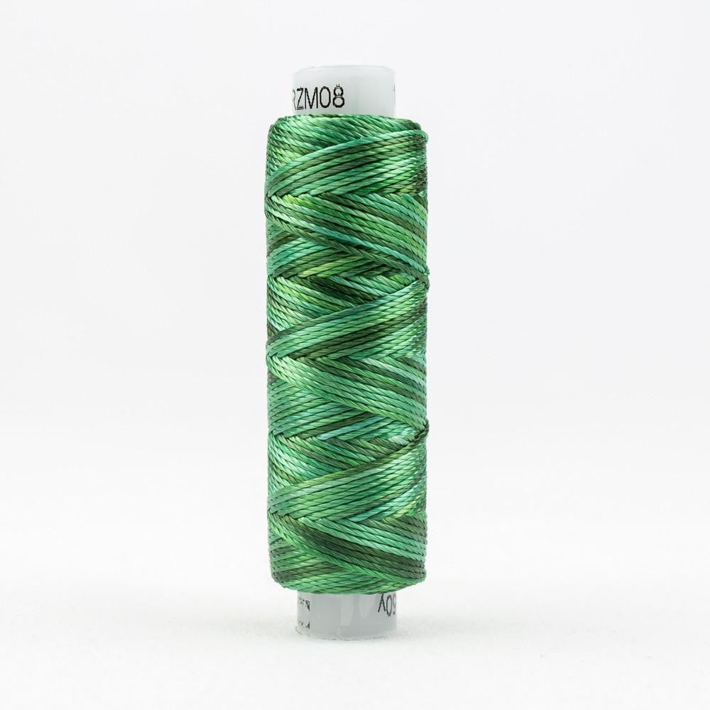 SSRZM08 - Razzle 8wt Rayon Hint of Mint Thread - wonderfil-online-eu