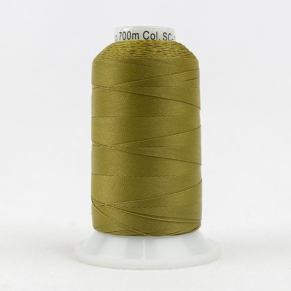 SC16 - Cotton Drab Green Thread 35wt - wonderfil-online-eu