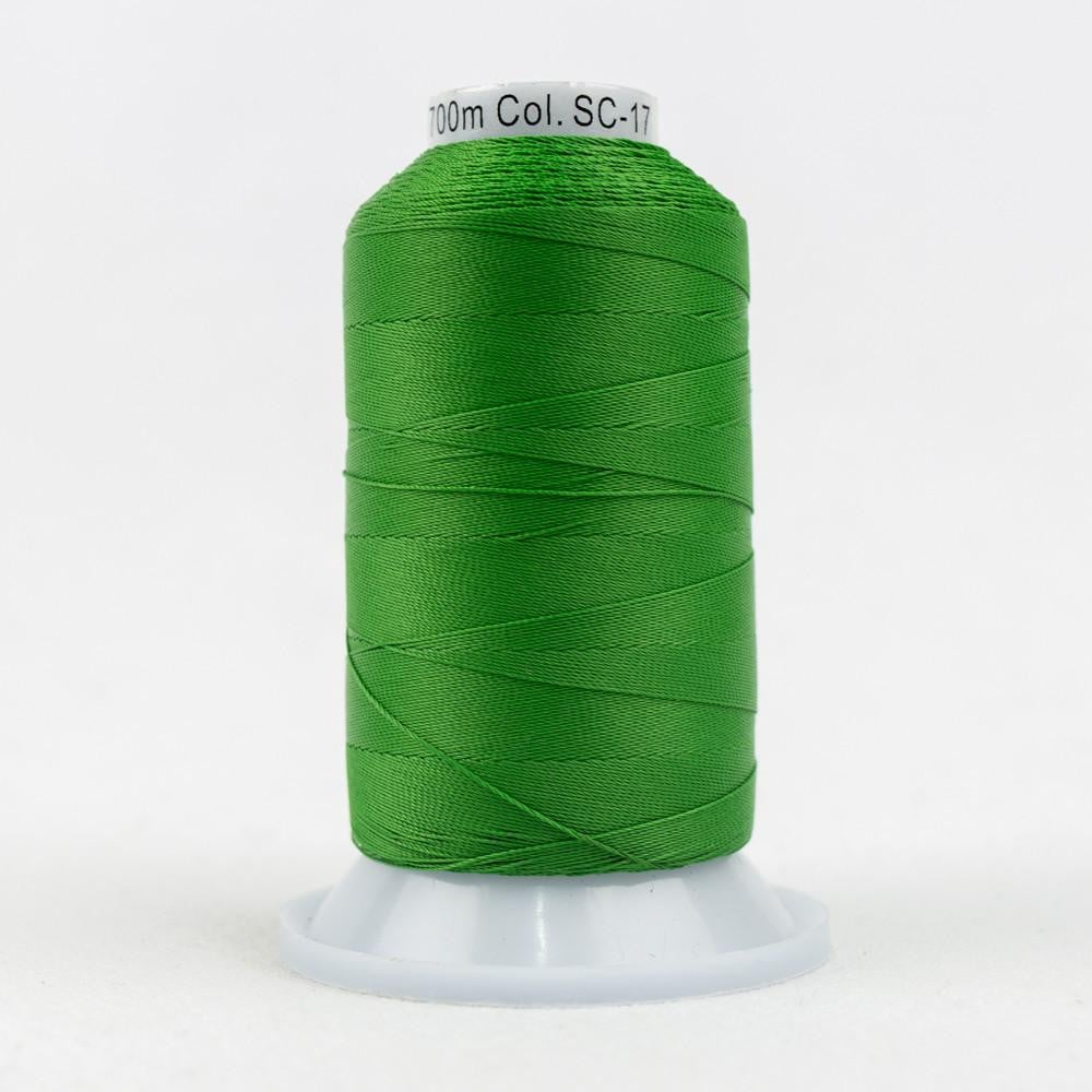 SC17 - Cotton Holiday Green Thread 35wt - wonderfil-online-eu