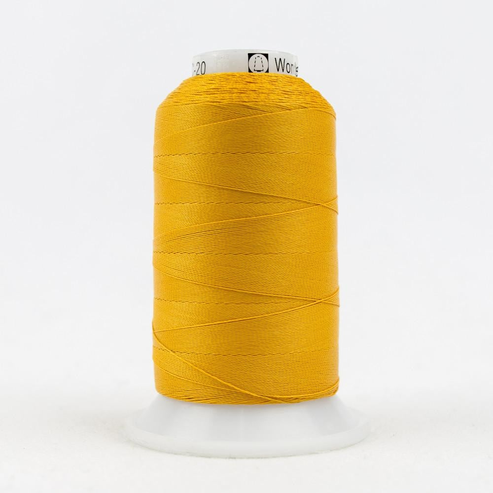 SC20 - Cotton Golden Orange Thread 35wt - wonderfil-online-eu