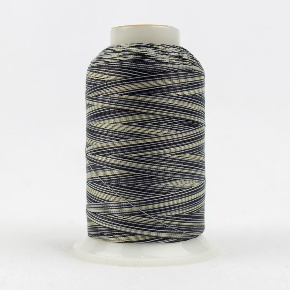 SCM01 - Cotton Beige Grey Soft Black Thread 35wt - wonderfil-online-eu