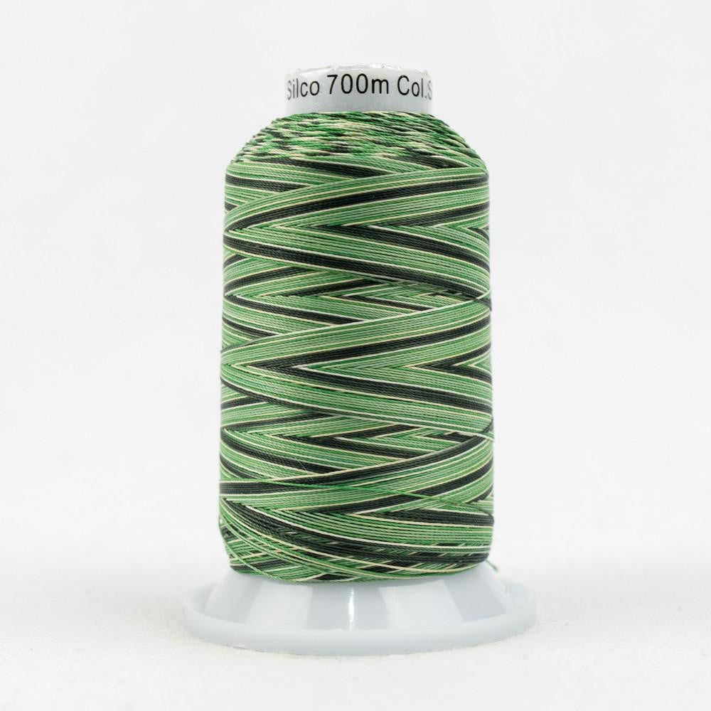 SCM08 - Cotton Greens Tan Thread 35wt - wonderfil-online-eu