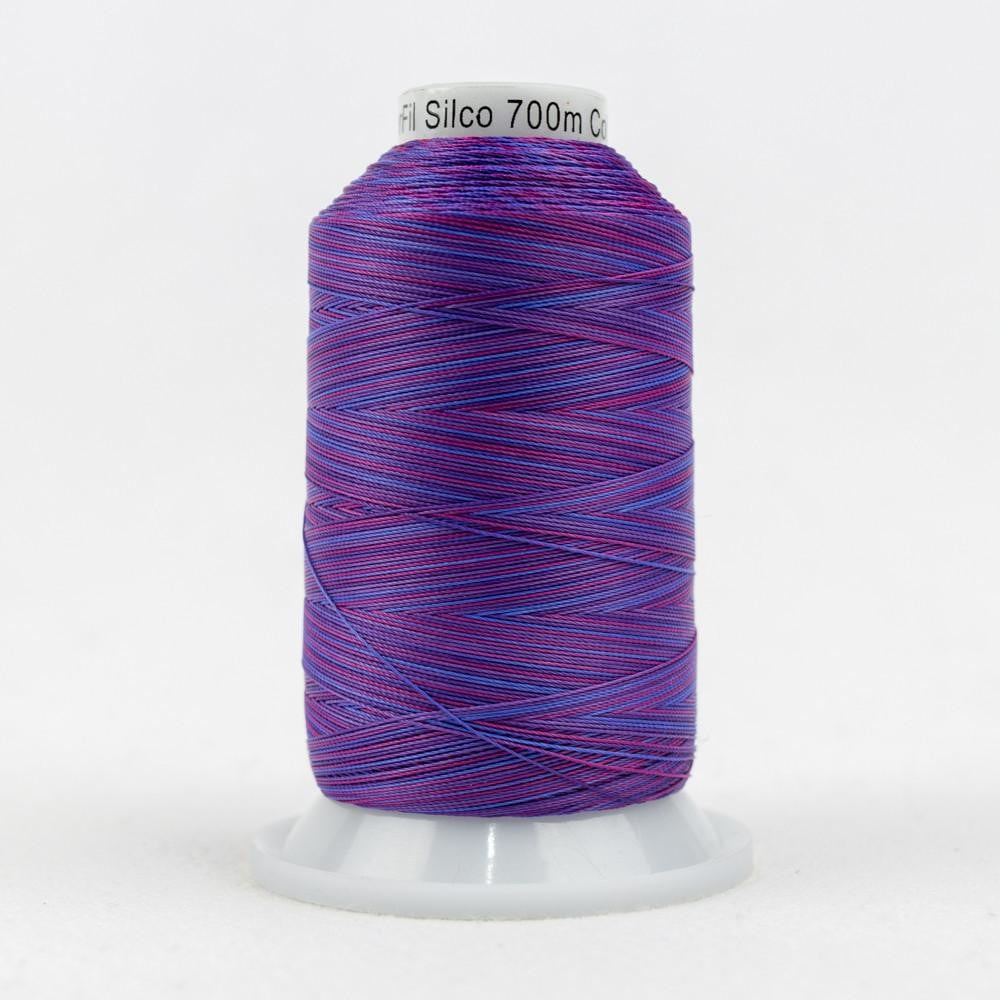 SCM19 - Cotton Purple Blue Red Thread 35wt - wonderfil-online-eu