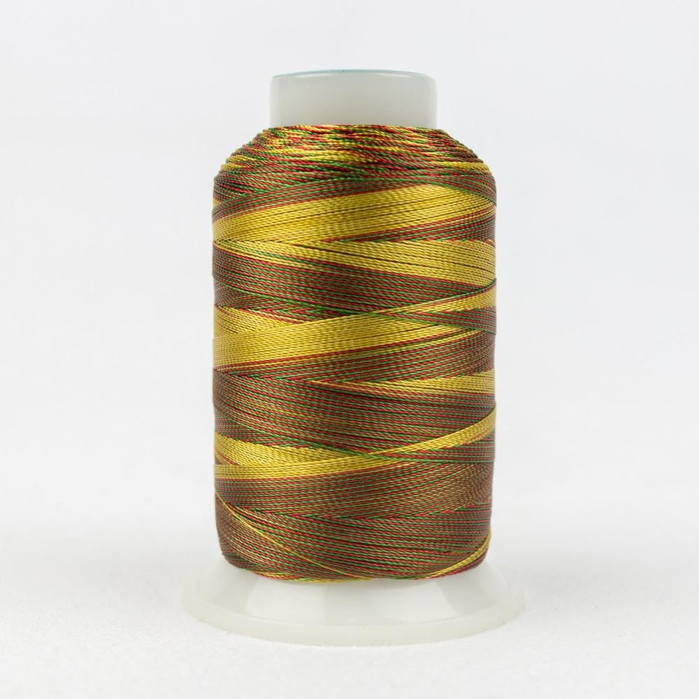 SD27 - Rayon Green Honey Red Thread 30wt - wonderfil-online-eu
