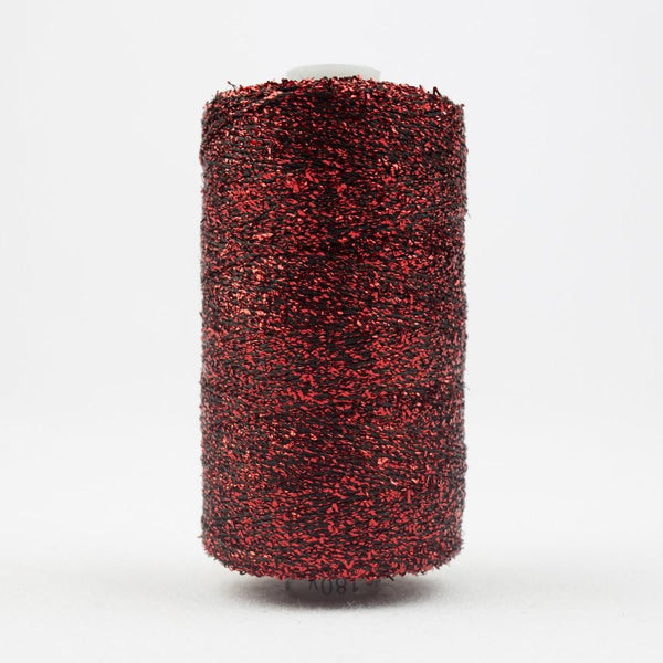 SM24 - Rayon with Metallic Christmas Red Thread 8wt - wonderfil-online-eu