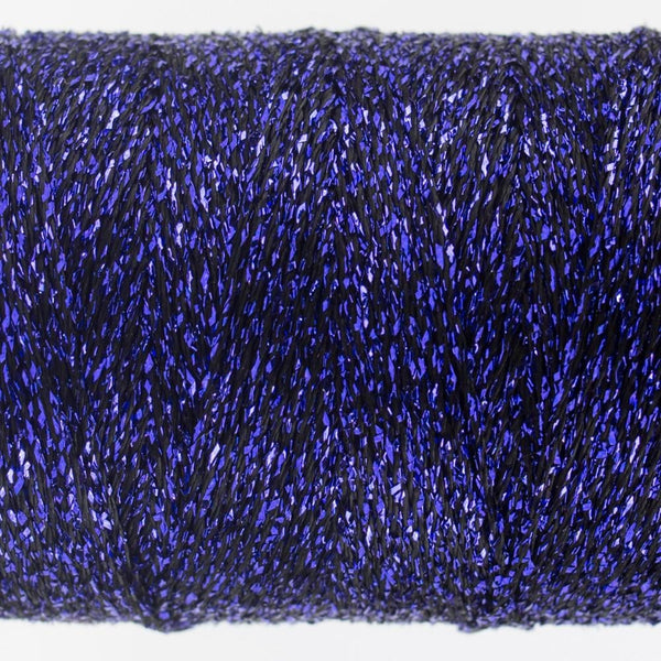 SM25 - Rayon with Metallic Dark Purple Thread 8wt - wonderfil-online-eu