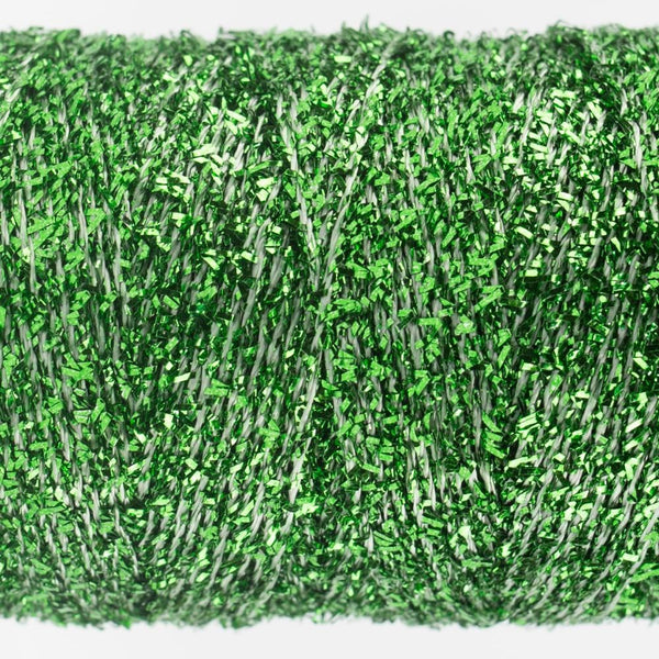 SM4 - Rayon with Metallic Seafoam Green Thread 8wt - wonderfil-online-eu