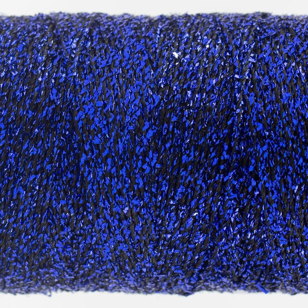 SM69 - Rayon with Metallic Dark Blue Thread 8wt - wonderfil-online-eu