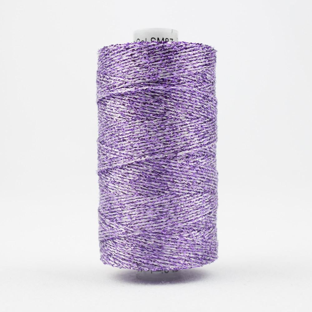 SM87 - Rayon with Metallic Mauve Thread 8wt - wonderfil-online-eu