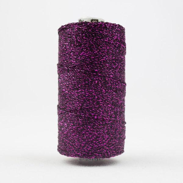 SM9 - Rayon with Metallic Magenta Thread 8wt - wonderfil-online-eu