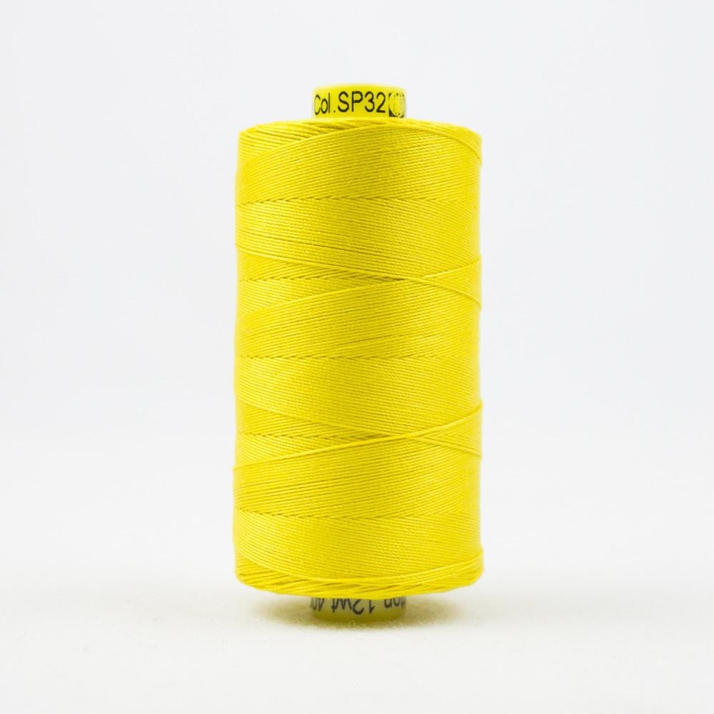 SP32 - Spagetti 12wt Egyptian Cotton Lemon Thread - wonderfil-online-eu