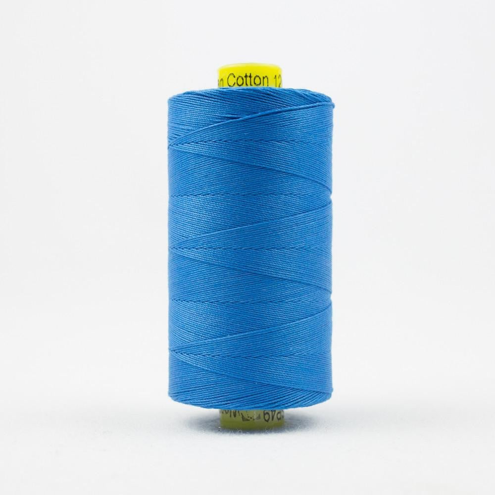 SP49 - Spagetti 12wt Egyptian Cotton Marine Blue Thread - wonderfil-online-eu