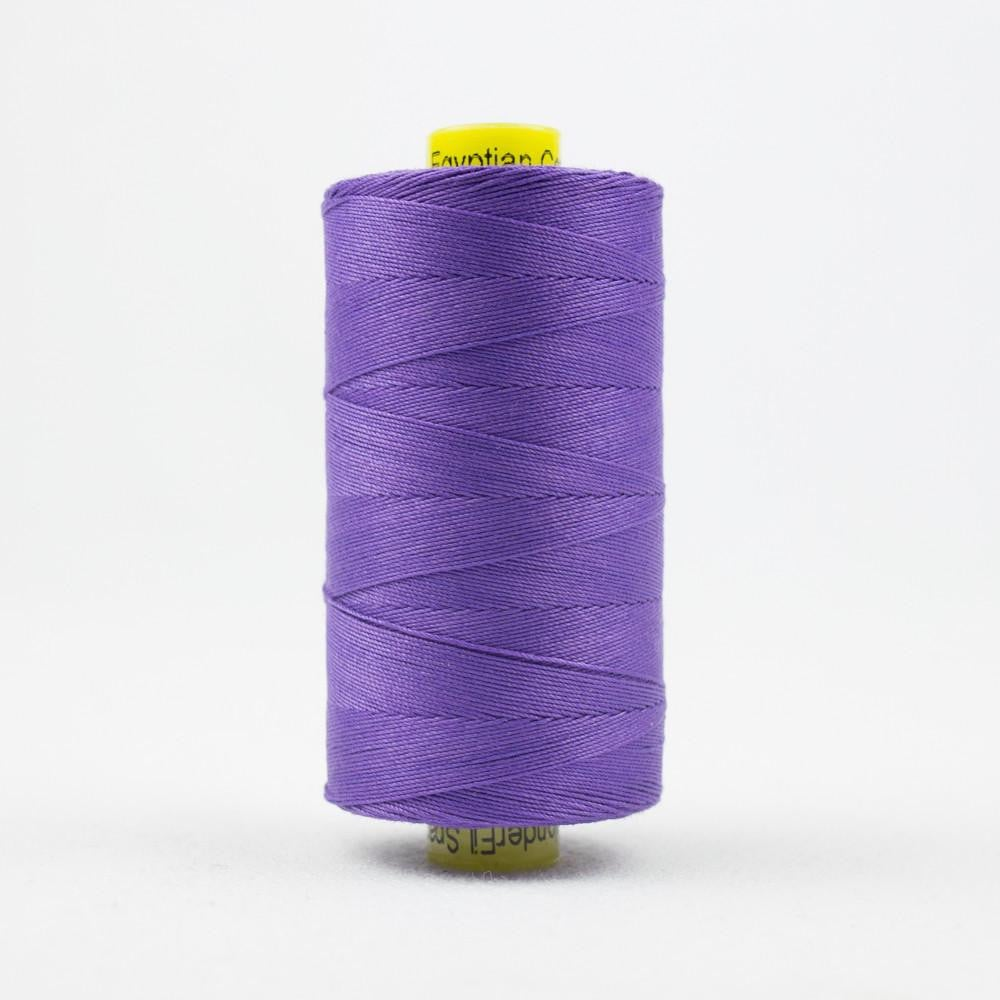 SP51 - Spagetti 12wt Egyptian Cotton Purple Pansy Thread - wonderfil-online-eu