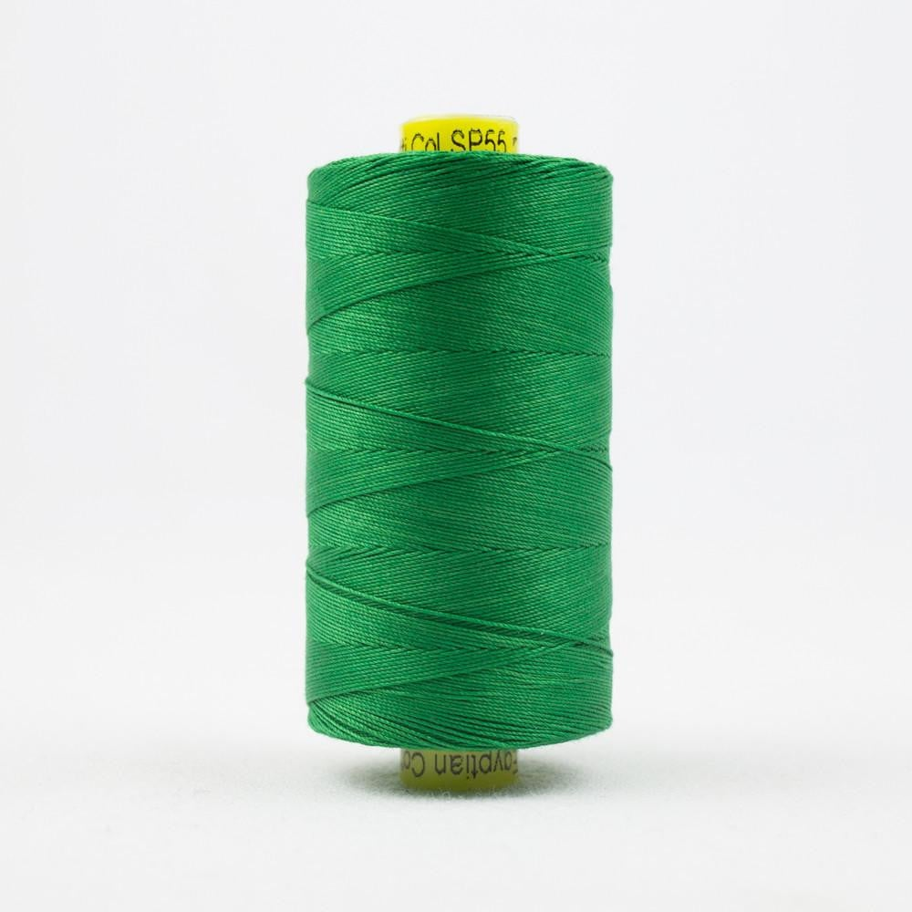 SP55 - Spagetti 12wt Egyptian Cotton Grass Green Thread - wonderfil-online-eu