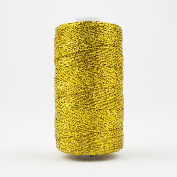 SX11 - Rayon with Metallic Gold Thread 8wt - wonderfil-online-eu