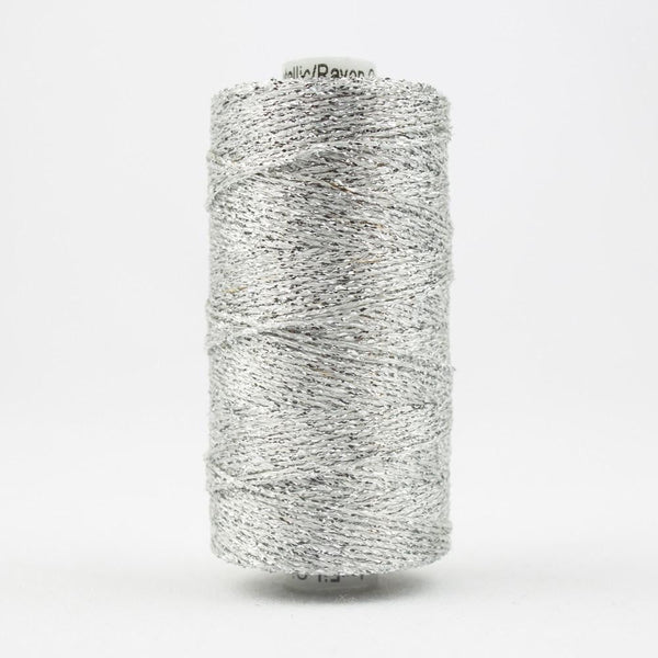 SX1 - Rayon with Metallic Silver Thread 8wt - wonderfil-online-eu