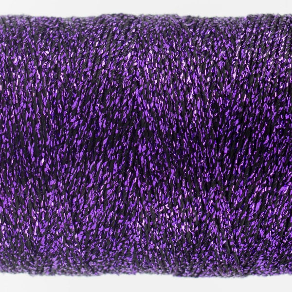 SX35 - Rayon with Metallic Purple Thread 8wt - wonderfil-online-eu